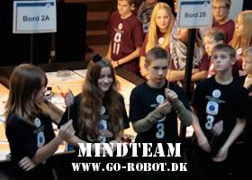 Mindteam fra Go-robot.dk ved fll i Sorø